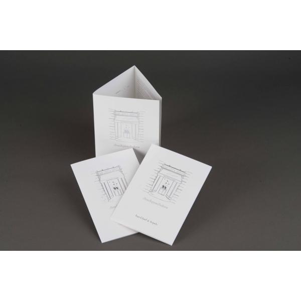 impression d pliant 3 volets 6 pages sur mesure. Black Bedroom Furniture Sets. Home Design Ideas