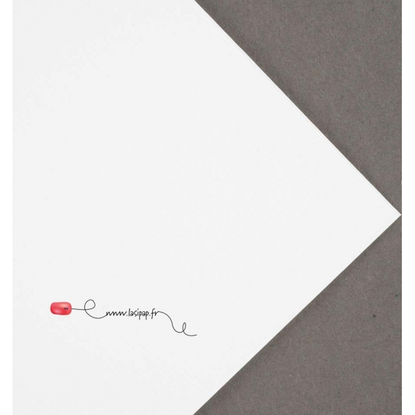 impression cartes de voeux sur papier rives