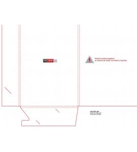 CHEMISES RABATS 5MM A4 + VERROUILLAGE + ENCOCHE CARTE