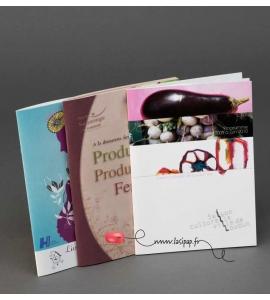 Impression 1000 brochures 16 pages A5 agrafées