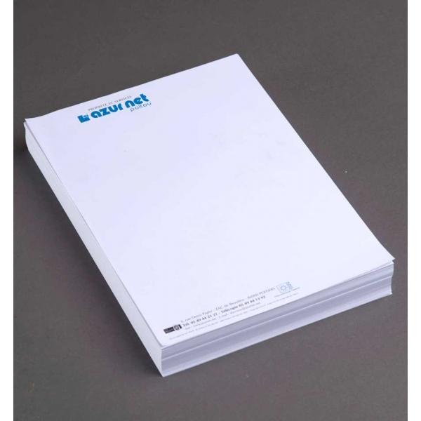 Super Papier à en-tête de lettre bureau dés 75€ JD42